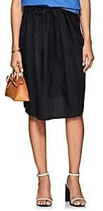 Atlantique Ascoli Women's Drawstring Cotton Cottage Skirt - Black