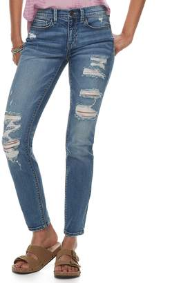 Mudd Juniors' FLX Low Rise Stretch Skinny Jeans