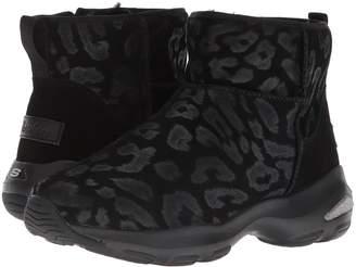 Skechers D'Lites Ultra - Leopard Women's Boots