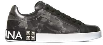 Dolce & Gabbana Rear Sole Logo Sneakers