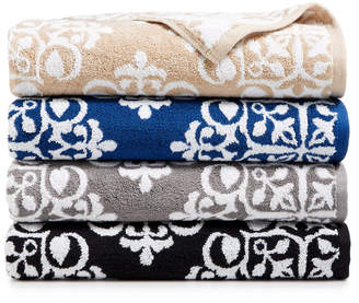 Charter Club Elite Cotton Medallion Towel Collection, Created for Macy's & Reviews - Bath Towels - Bed & Bath - Macy's