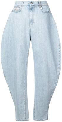 ATTICO high-waisted jeans