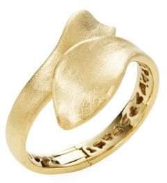 Rivka Friedman 18K Goldplated Textured Bypass Bracelet