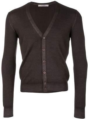 D'aniello La Fileria For V-neck buttoned cardigan