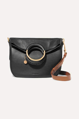 0722144437 Chloe Black Leather Tote - ShopStyle