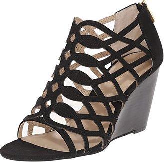 Adrienne Vittadini Footwear Women's Arndre Wedge Sandal $37.99 thestylecure.com