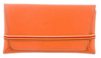 Tod's Leather Envelope Clutch