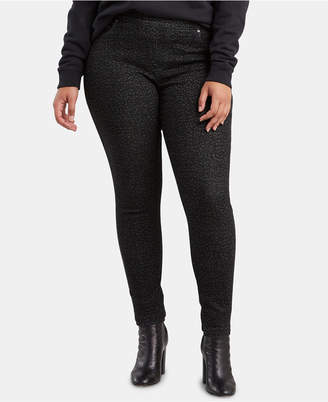a845526d93c Plus Size Pull On Jeggings - ShopStyle