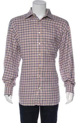 Etro Plaid Flannel Shirt