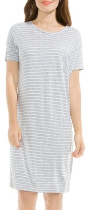 Women's Two By Vince Camuto Liberty Stripe T-Shirt Dress $89 thestylecure.com