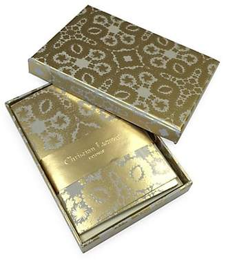 Christian Lacroix Oro Y Plata Diecut Boxed Notecards