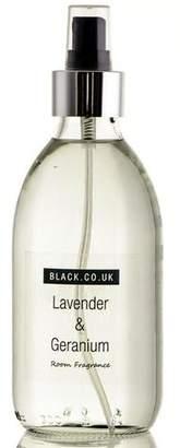 Black Lavender and Geranium Room Spray