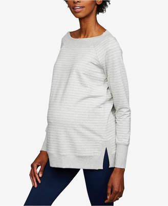 A Pea in the Pod Maternity Striped Sweatshirt