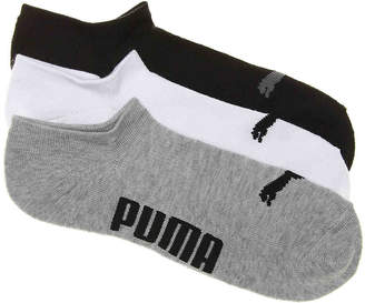 Puma Invisible No Show Socks - 3 Pack - Men's