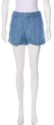 Club Monaco Mid-Rise Mini Shorts