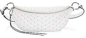 Rebecca Minkoff Women's Edie Leather Sling Belt Bag With Studs