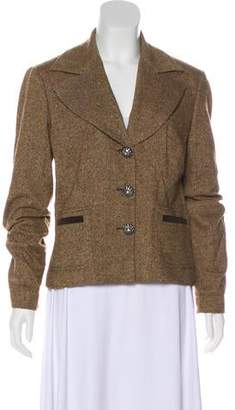 Dolce & Gabbana Long Sleeve Tweed Blazer