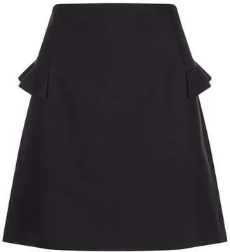 Sandro Frill Trim Skirt