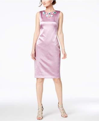 Jax Appliqué Sheath Dress