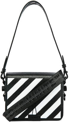 Off-White Diagonal Flap Bag