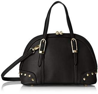 MG Collection Irina Mini Studded Satchel Shoulder Bag