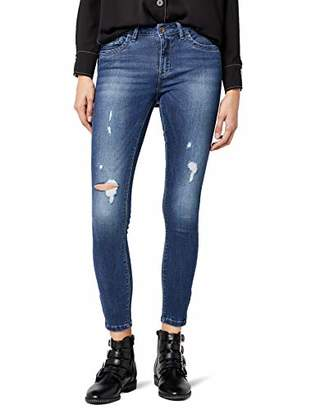 ... Only Women s Onlkendell Reg an Sk DNM Guabj11334 Noos Skinny Jeans,  (Dark Blue Denim 1e7a6bac1d
