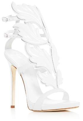 Giuseppe Zanotti Women's Cruel Coline Wing Embellished High-Heel Sandals