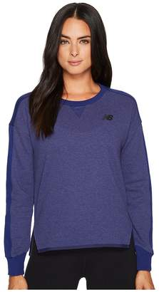 New Balance 247 Sport Crew Women's Long Sleeve Pullover