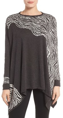 Women's Nic+Zoe Whimsical Waves Poncho $168 thestylecure.com