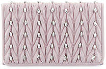 Adrianna Papell Sutton Quilted Flap Clutch Bag