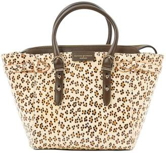 Aspinal of London Beige Leather Handbag