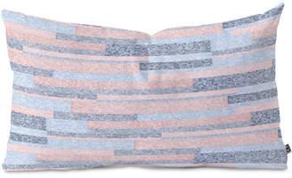 Deny Designs Pimlada Phuapradit Velveteen Stripes Oblong Throw Pillow