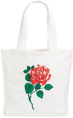 Ban.do Accept This Rose Canvas Tote - Red $25 thestylecure.com