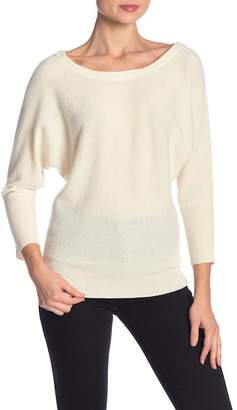 Milly Dolman Sleeve Cashmere Sweater