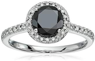 14k White Gold and White Diamond Engagement Ring (1 5/8cttw)