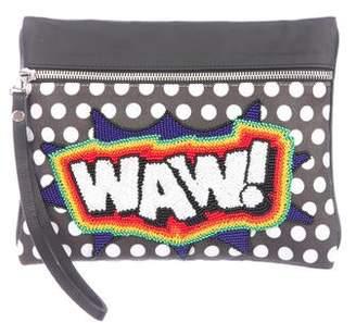 Sarah's Bag Waw Wristlet Clutch