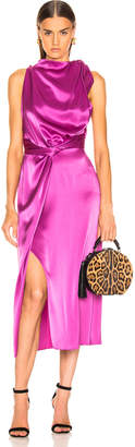 Nanushka Kalila Dress in Rosebud | FWRD