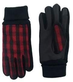 Levi's Buffalo Plaid Gloves