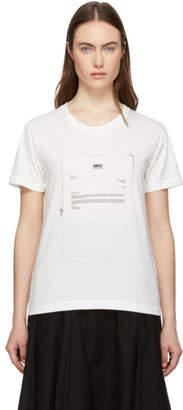 MM6 MAISON MARGIELA White Printed T-Shirt