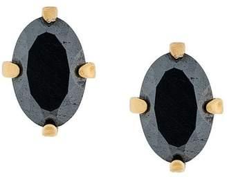 Wouters & Hendrix Curiosities hematite earrings