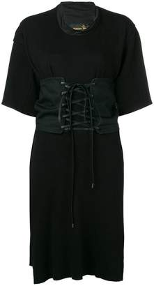 Vivienne Westwood lace-up waist corset dress