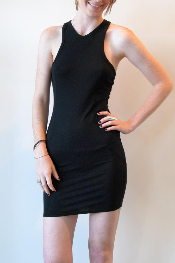 Alexander Wang - Black Cut-Out Tight Dress