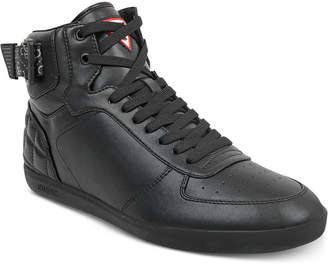 GUESS Men's Fitz High-Top Sneakers Men's Shoes