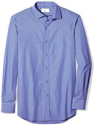 Buttoned Down Men's Classic Fit Supima Cotton Spread-Collar Sport Shirt