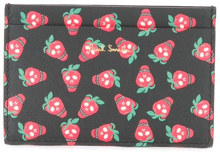 Paul Smith Paul Smith strawberry print wallet