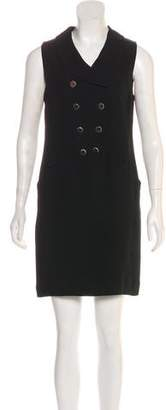Karl Lagerfeld Mini Sleeveless Dress