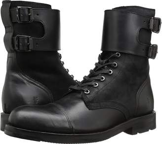 Frye Officer Cuff Boot Men's Lace-up Boots