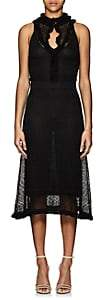 Altuzarra Women's Butterfield Pointelle Lace Maxi Dress - Black