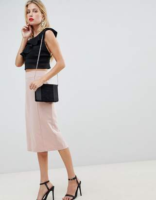 Asos DESIGN mix & match pencil skirt