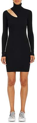 A.L.C. Women's West Rib-Knit Fitted Sweaterdress - Black